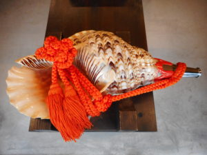 法螺貝(ほらがい)